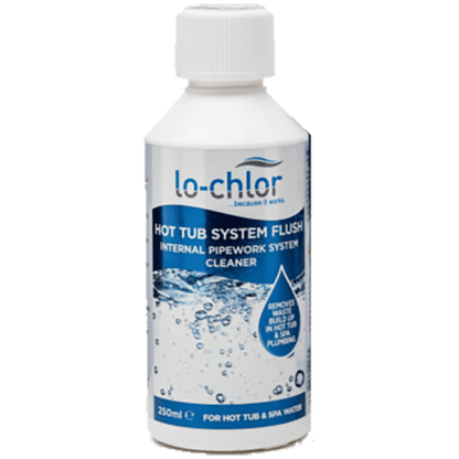 Hot Tub - Cleaner - System Flush 250ml - By lo-chlor