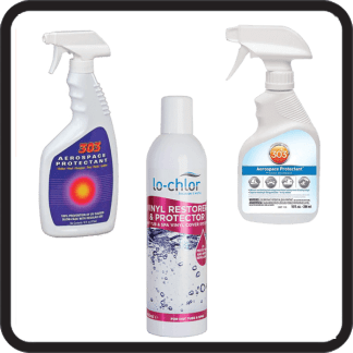 Spa Cover Cleaning And Protection