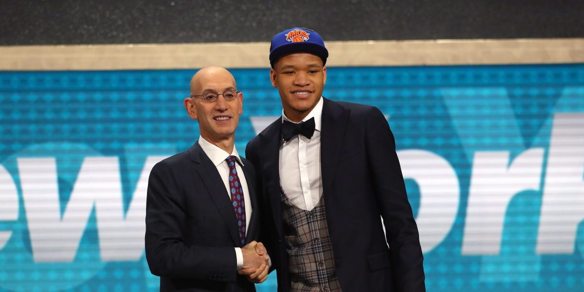 New York Knicks rookie Kevin Knox excited for NBA London 2019