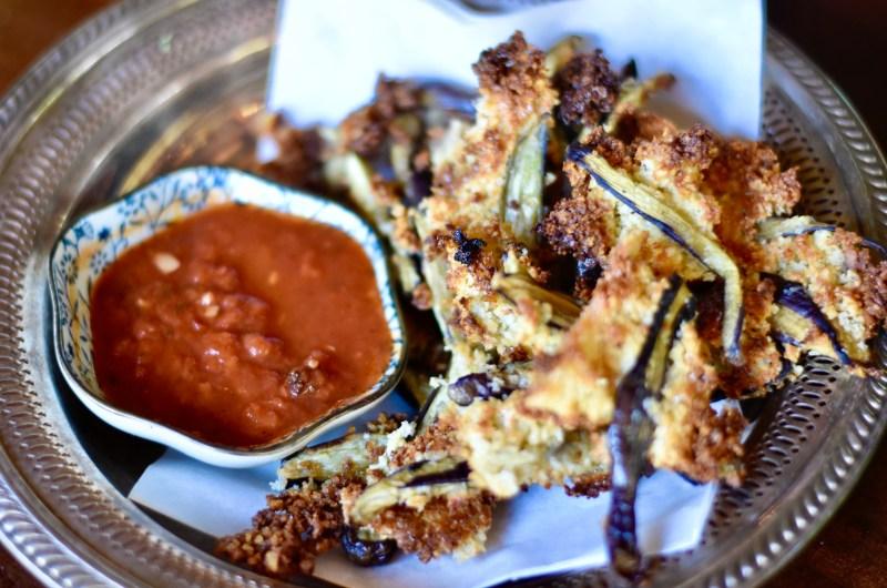 """Mini-Eggplant Roasted """"Fries"""""""