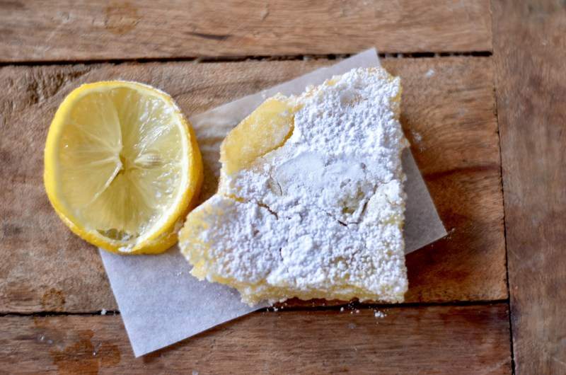 One Lemon Lemon Bars