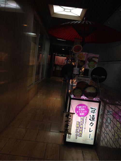 北新地の華道カレー