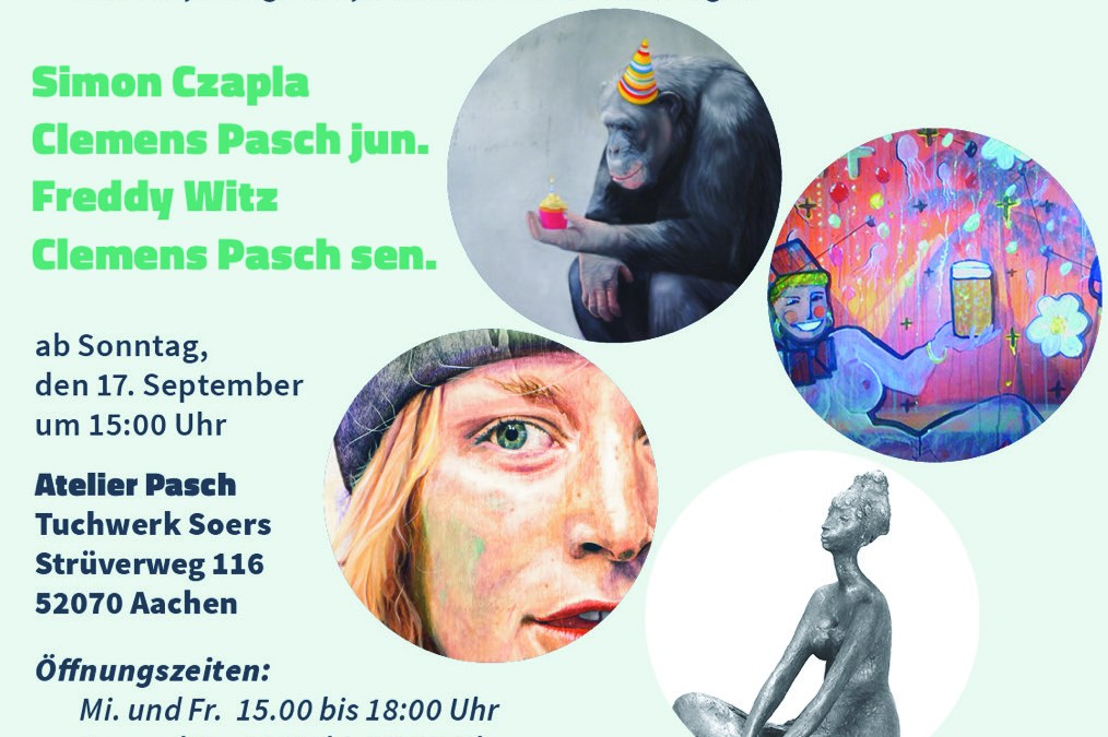 """Atelier Pasch: """"younger than kurt cobain and the old man"""""""