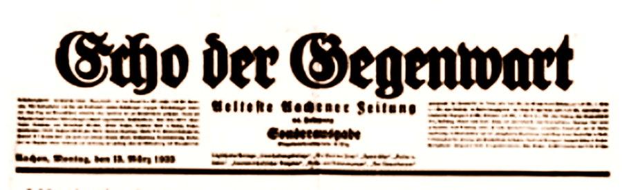 Presseartikel von 1925 über die Aachener Industrien