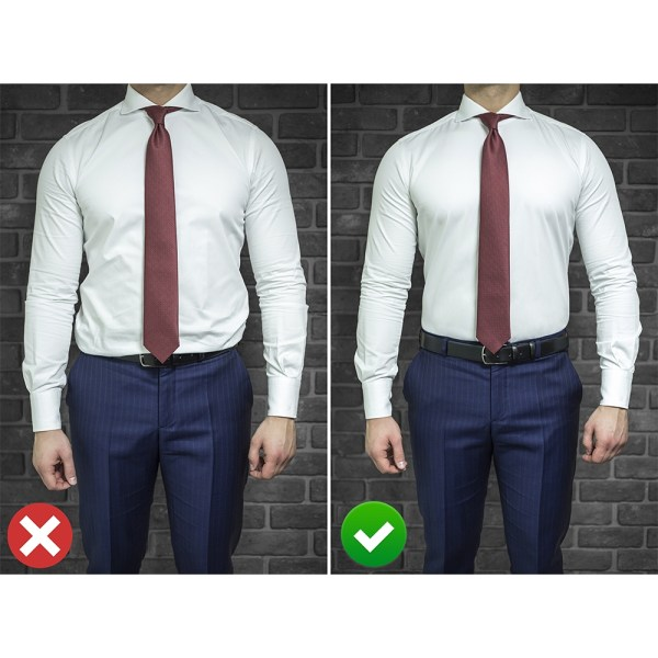 Tucker Shirt Stay Gentleman - Before-After