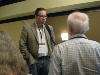 Panel moderator Ian LeTourneau