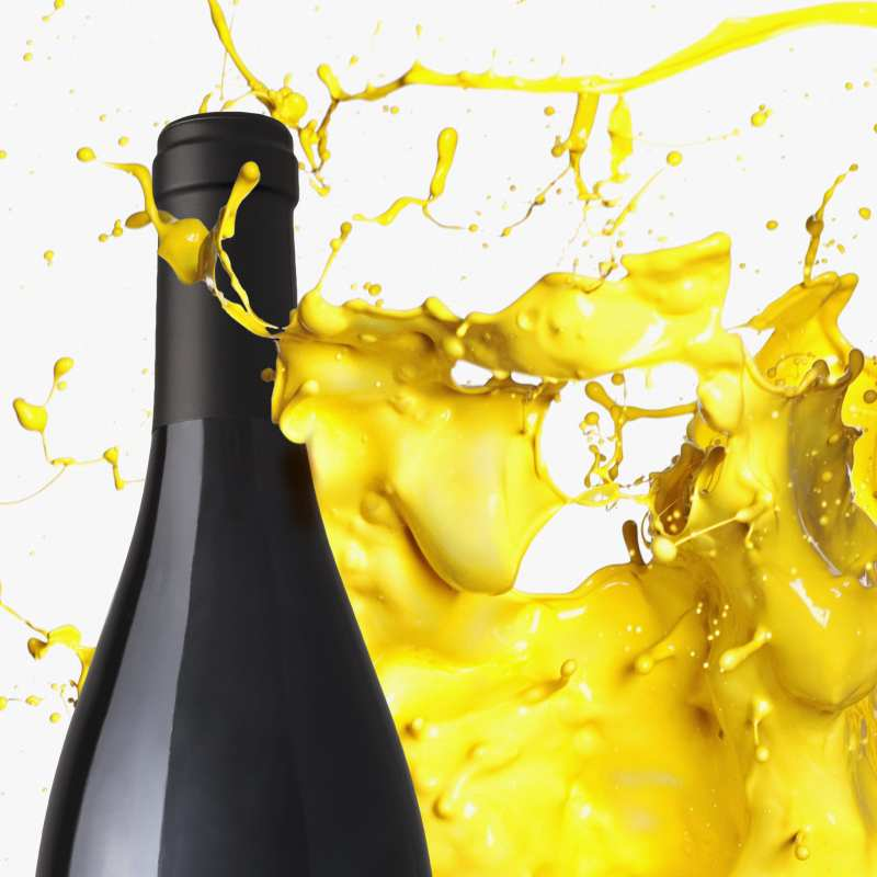 J Vineyards Paint Splash