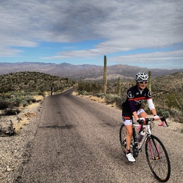 Saguaro East is a 9.5 mile loop of up and down thrills!