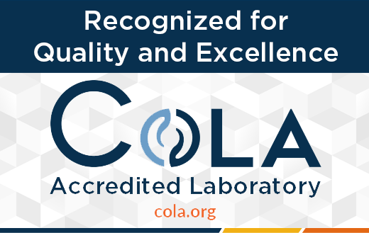Laboratory Accreditation by COLA Inc.