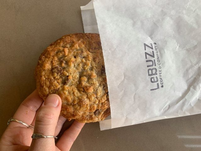 Le Buzz Cookie from Le Buzz Caffe (Credit: Kate Severino)