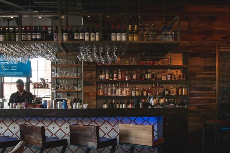 Bar at Villa Peru (Credit: Jackie Tran)