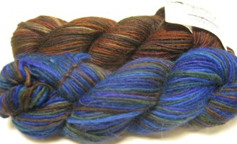 A coupley wool yarns I let myself buy because they would work great for hedgehogs or anything felted, and of course, they were on sale