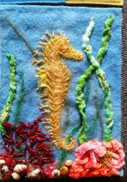 Under the Sea. Isn't that seahorse beautiful?