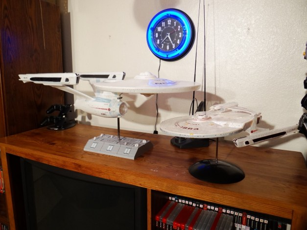 Uss Enterprise and Uss Reliant