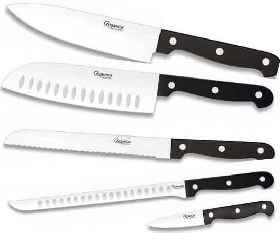 Tipos de cuchillos de cocina y sus funciones for Cuchillos de cocina