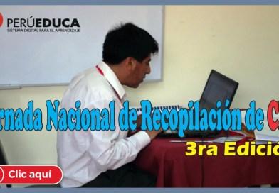 PERUEDUCA: Jornada Nacional de Recopilación de Contenidos Educativos Digitales – Tercera edición
