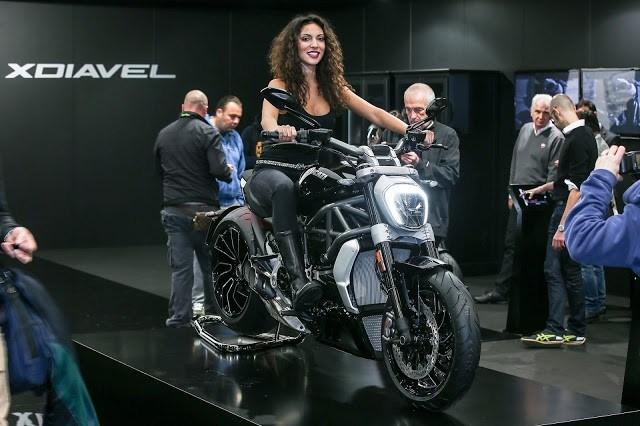 Ducati XDiavel é escolhida a moto mais bonita do Salão de Milão