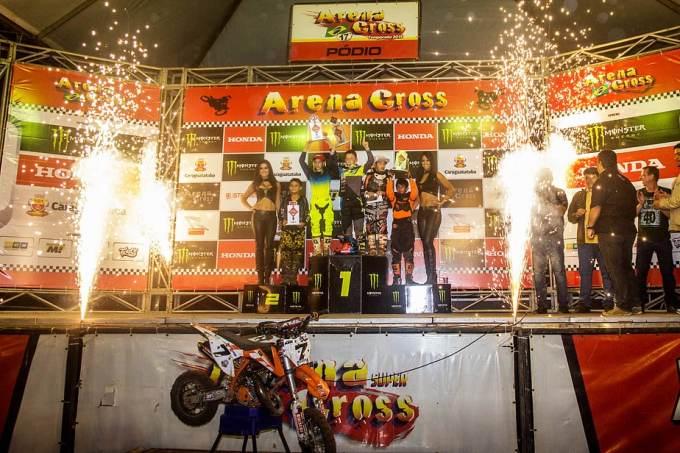Pódio das cinquentinhas - Foto: Ney Evangelista/Arena