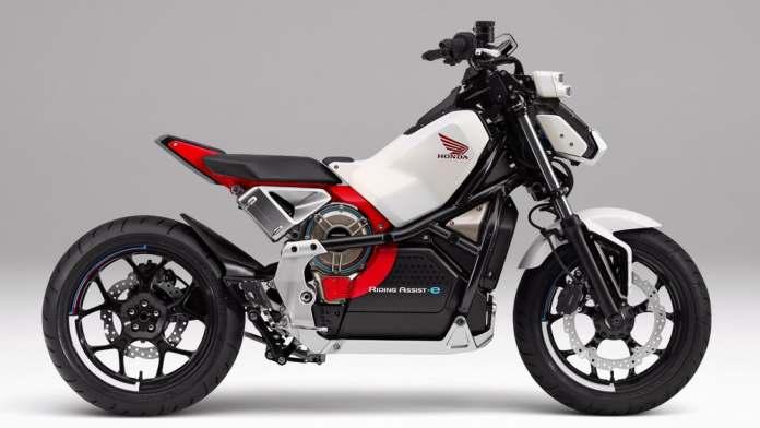 Riding Assist-e - A moto elétrica para iniciantes com auto-equilíbrio