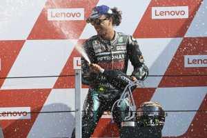 O ítalo-brasileiro Franco Morbidelli foi o vencedor da sexta etapa do Mundial de MotoGP - Foto: Petronas SRT