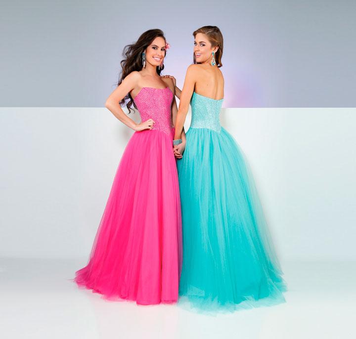 Vestidos para debutantes longos