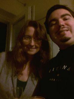 me and Annika