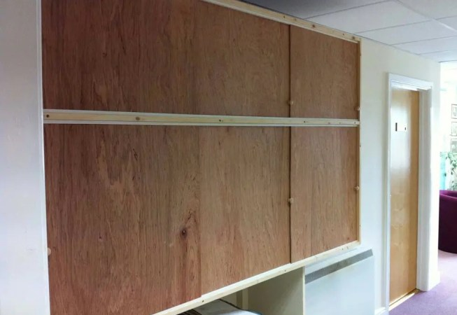 Tudor Carpentry and maintenance Shrewsbury Cupboard With Sliding Door