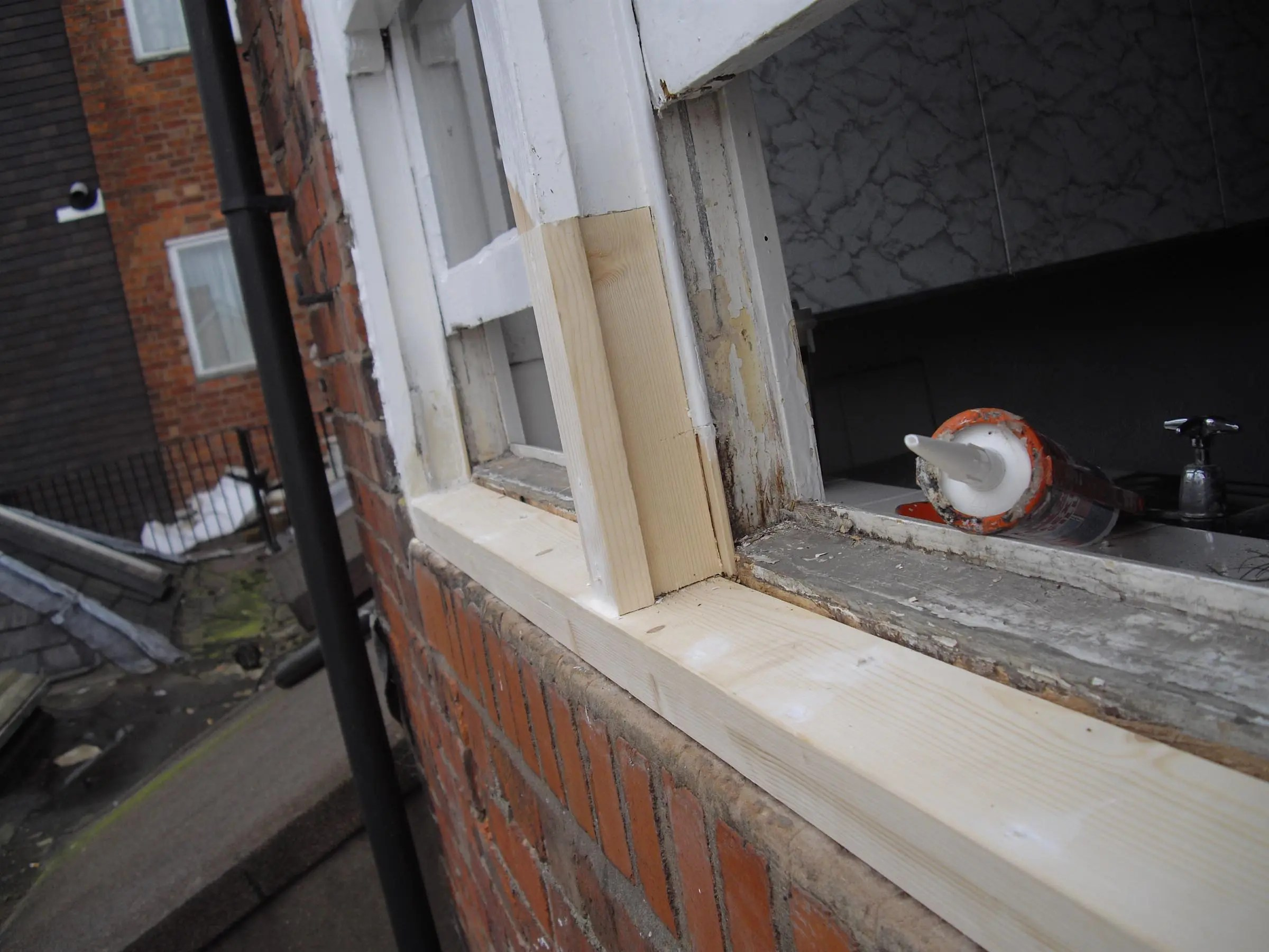 Tudor Carpentry and maintenance Shrewsbury rott repair after