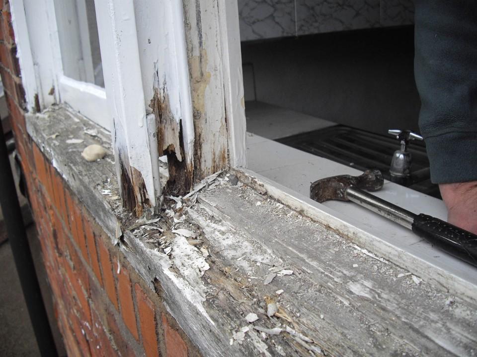 Tudor Carpentry and maintenance Shrewsbury rott repair after