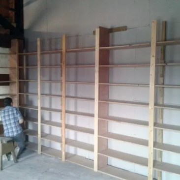 Tudor Carpentry and maintenance Shrewsbury Shropshire Shelving