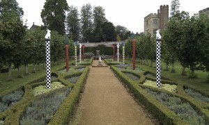 Knot borders at Penshurst Place in Kent