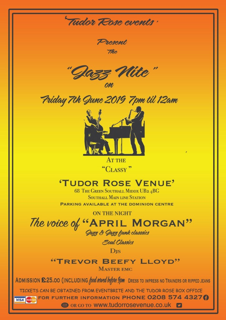 Tudor Rose Events Presents The Jazz Nite 6