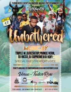 Unbothered: The Return Fete - Spicemas Edition 2