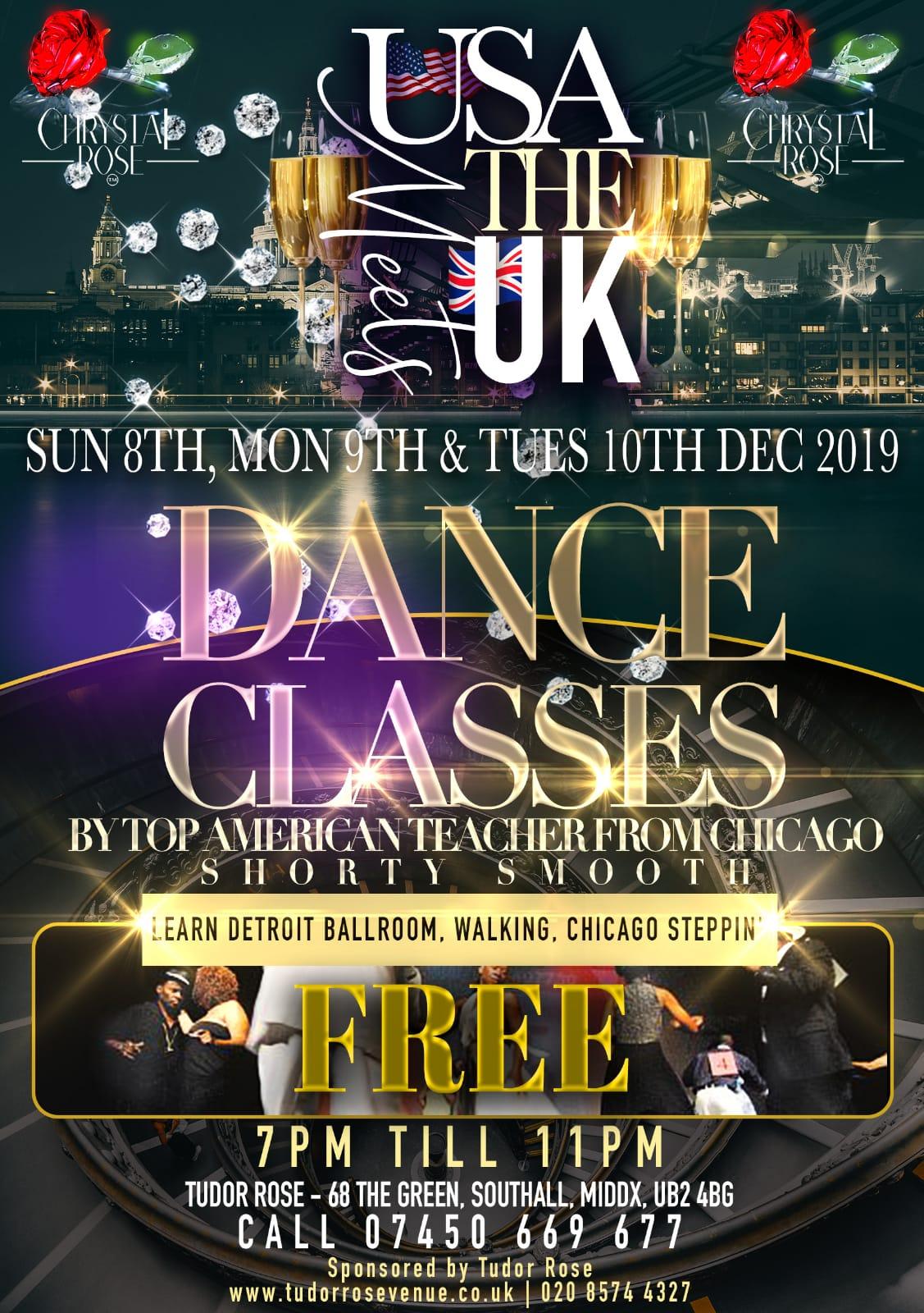 USA Meets UK Dance Classes
