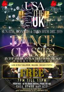 USA Meets UK Dance Classes