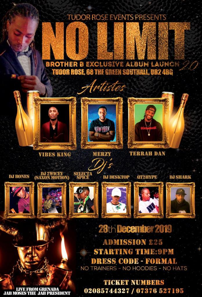 No limit - Brother B album launch