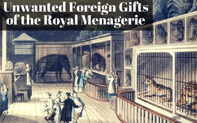 Unwanted Foreign Gifts of the Royal Menagerie