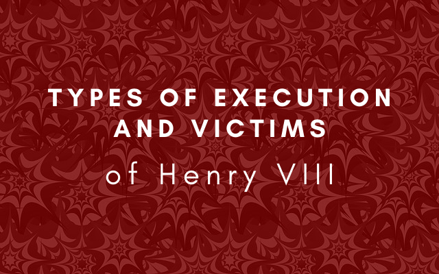 Types of execution and victims