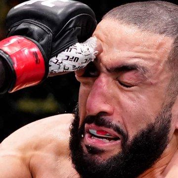 Ufc vegas 21 – luta principal termina sem resultado após 'dedada' no olho