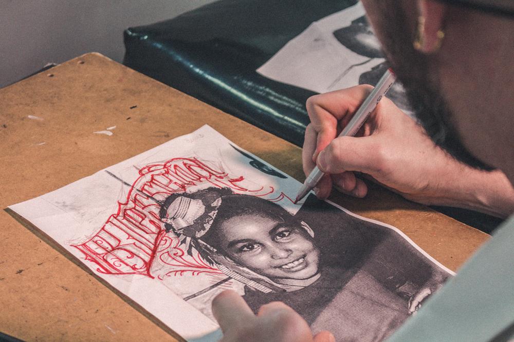 tattoo retrato criança