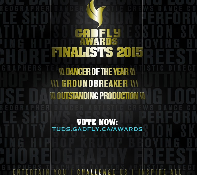 Time to VOTE, your 2015 Gadfly Awards Finalists Revealed