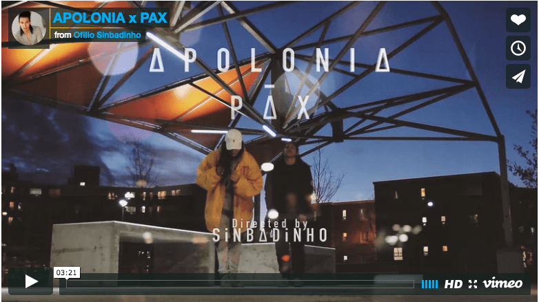 Montreal Flavour, Toronto Style, Female Hip Hop flair – The PAX – APOLONIA Kri8tive Rendez-vous.