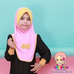 Factory Reject | Tudung Mashmallow Grade AAA  (Baby Pink + Mustard)  R166-01
