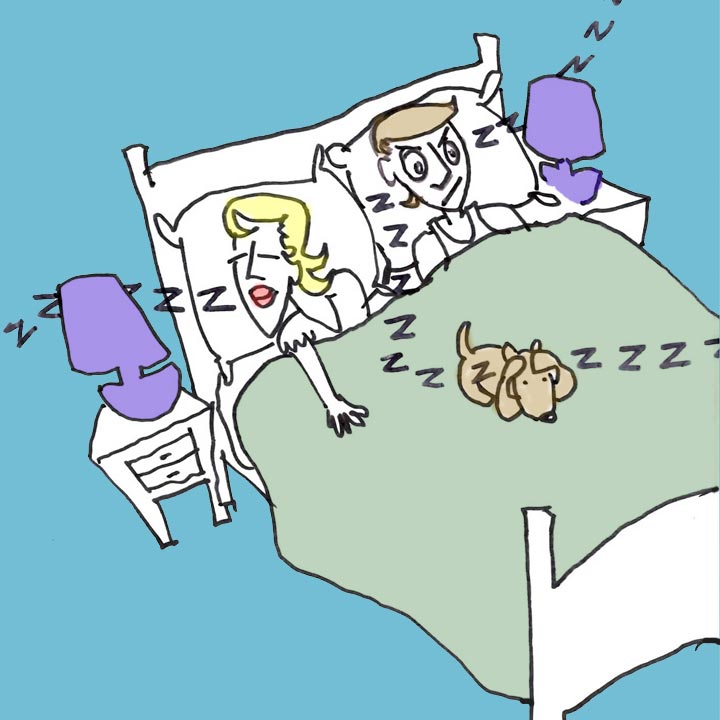 sleep illustration by Mark Gardner