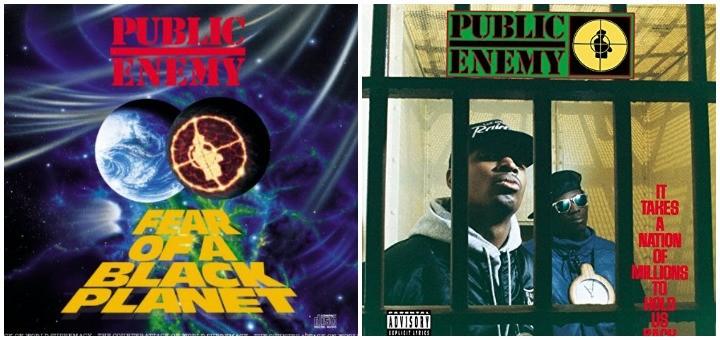 Public Enemy Collage