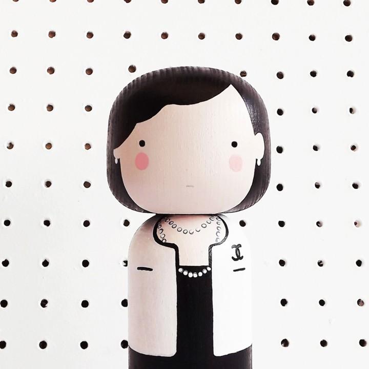 Coco Kokeshi Doll TueNight.com