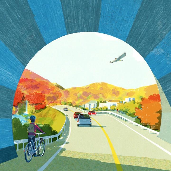 Tatsuro Kiuchi Tunnel Print TueNight.com