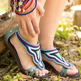 TueNight Shoes Pikolions Maasai Fashion Comfort Go Out Style sandal