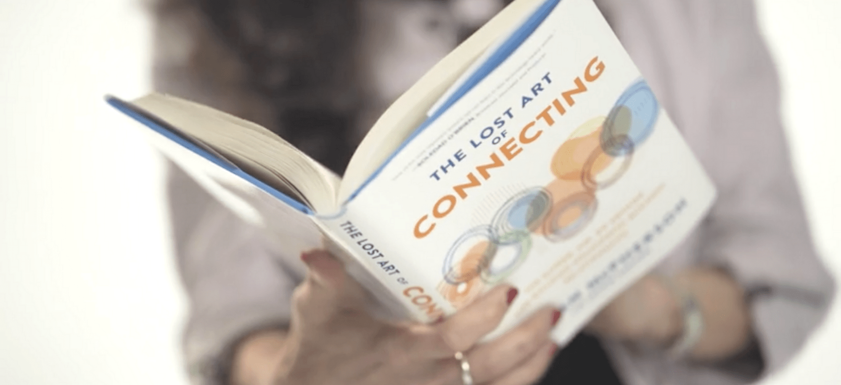 Book Jacket, The Lost Art of Connecting
