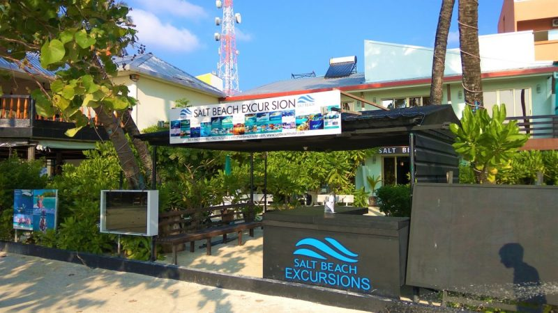 Salt beach excursions en Maldivas